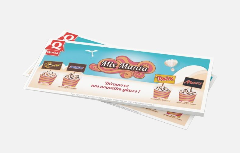 Horizontal DL Leaflet Mockup