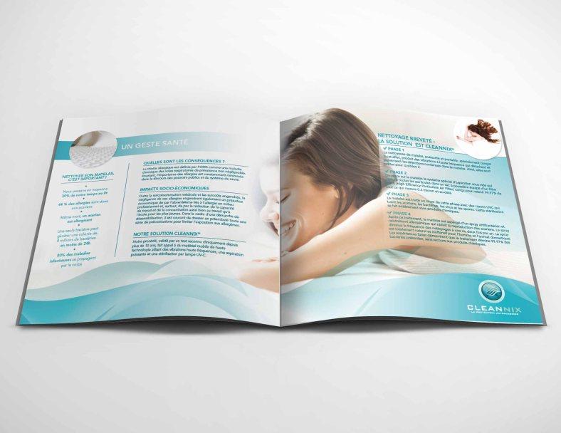 Mock-up – Brochure – 210 x 210 mm