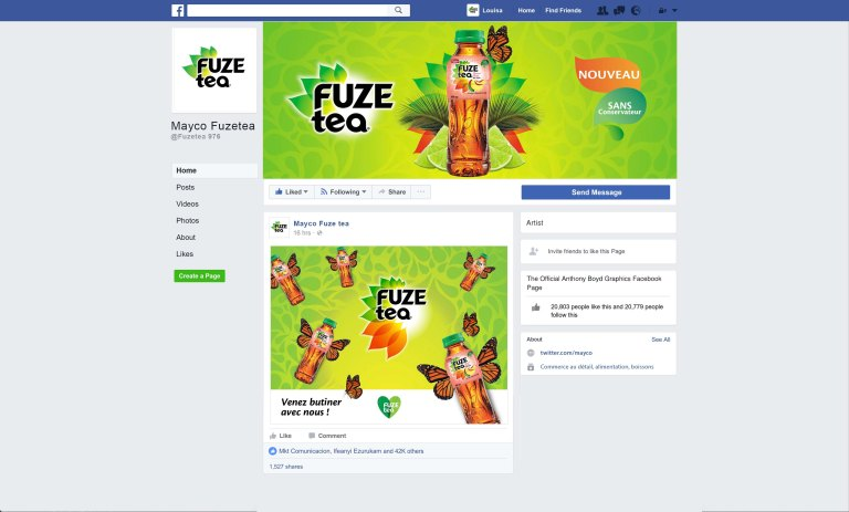 Facebook Page Mockup 2017 Template PSD by Anthony Boyd Graphics