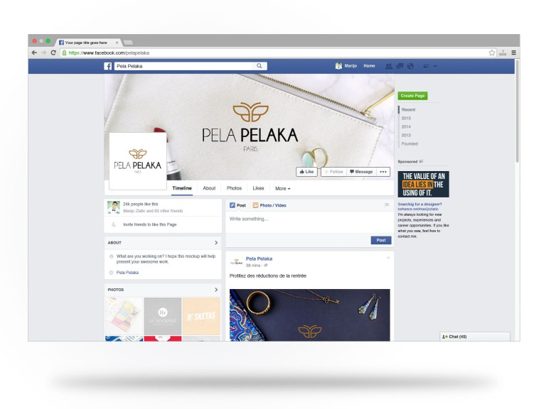facebook-fan-page-mockup